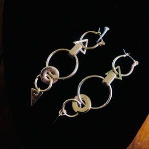 Zara | hoop dangle earrings